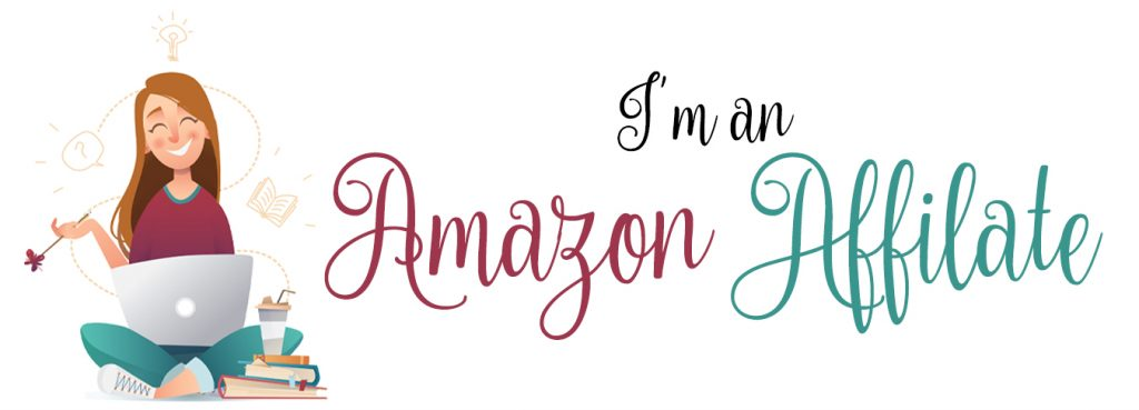 """Blog logo with the text """"I'm an Amazon Affiliate"""""""